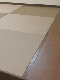 モダン和空間(新素材カラー畳)施行例